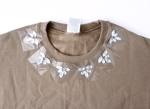 Fall Embellished Sweatshirt Add
