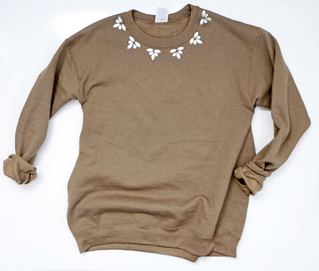 Fall Embellished Sweatshirt
