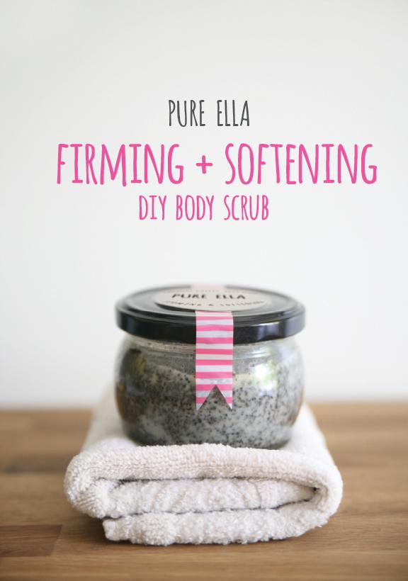 Firming Softening DIY Body Srub