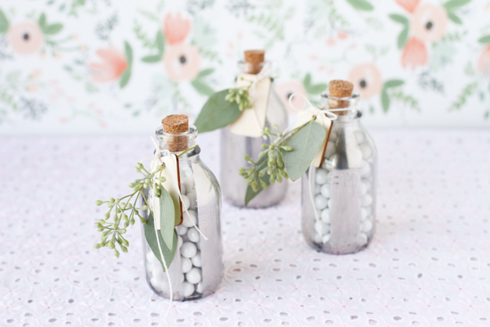 Glass Bottle DIY Favors