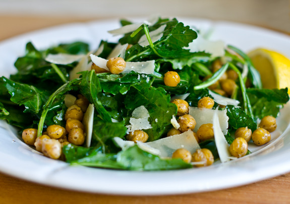 Kale and Chickpea Winter Salad Recipe