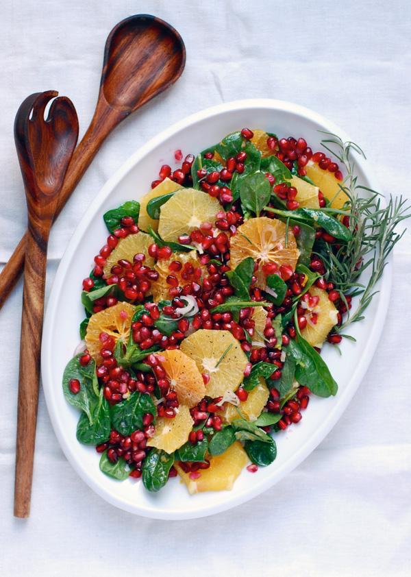 Orange Pom Winter Salad Recipe