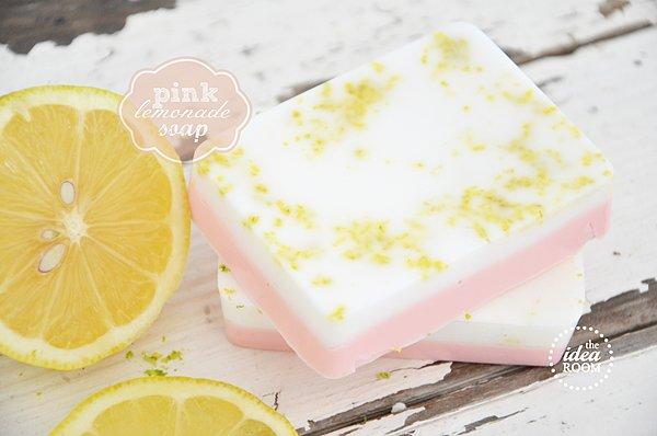 Pink Lemonade Soap DIY