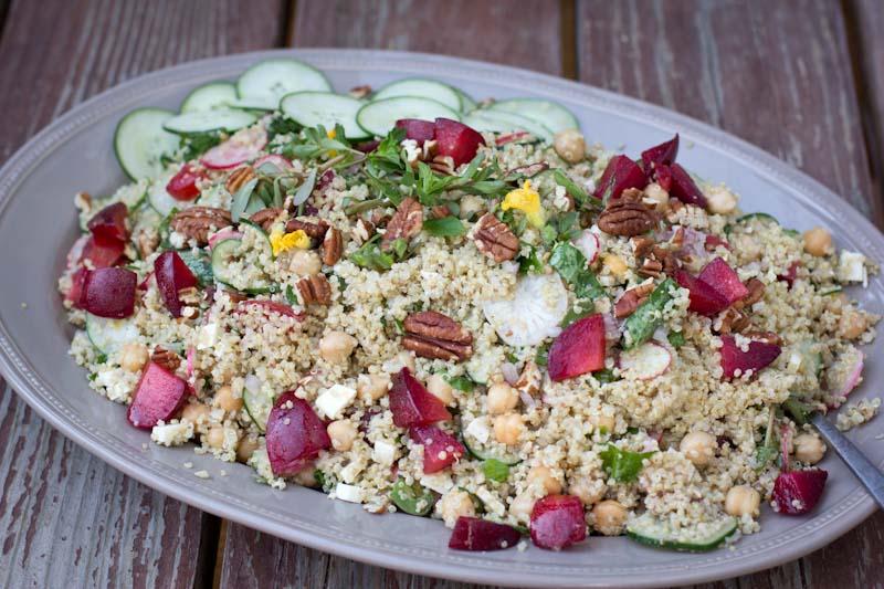 Quinoa Salad Winter Recipe