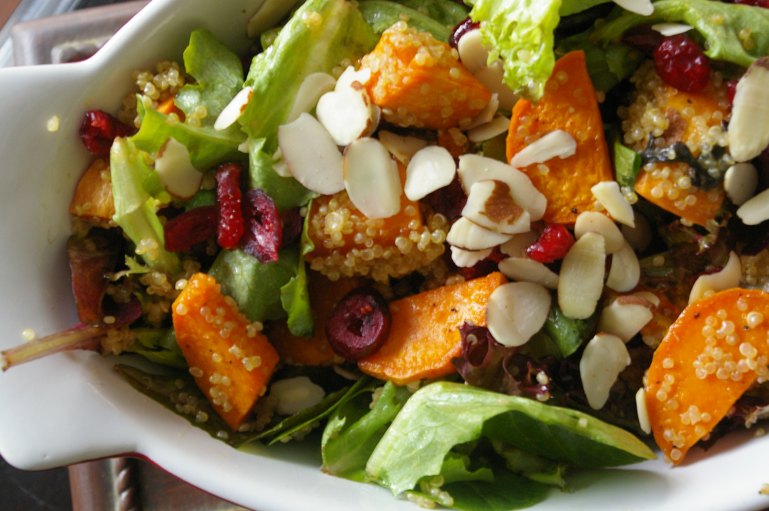 Roasted Sweet Potatoe and Quinoa Winter Salad Recipe