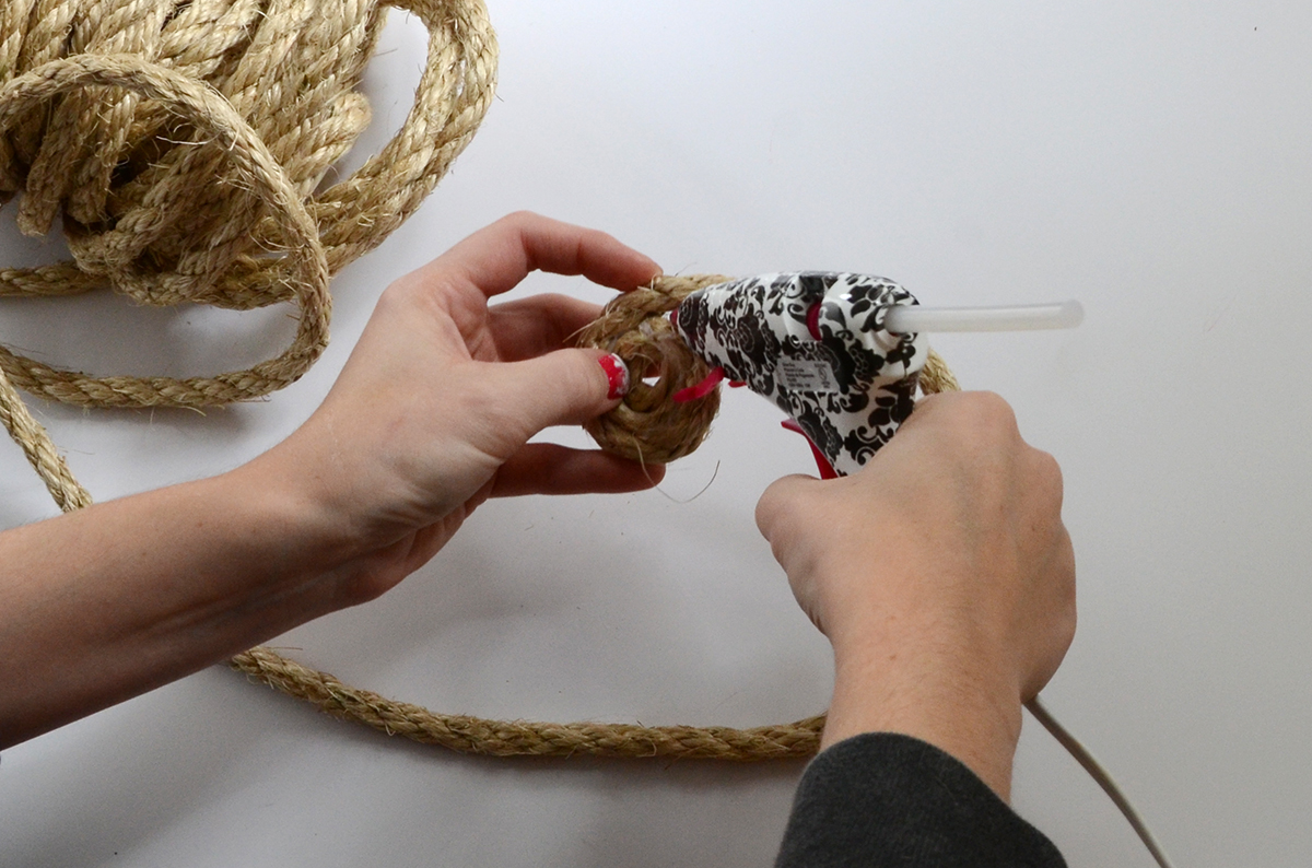 Rope Basket DIY 1