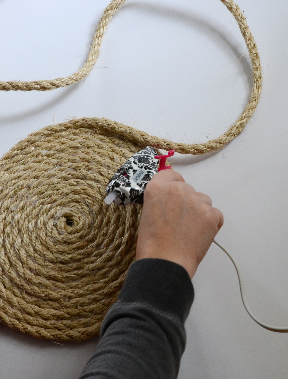Rope Basket DIY 2