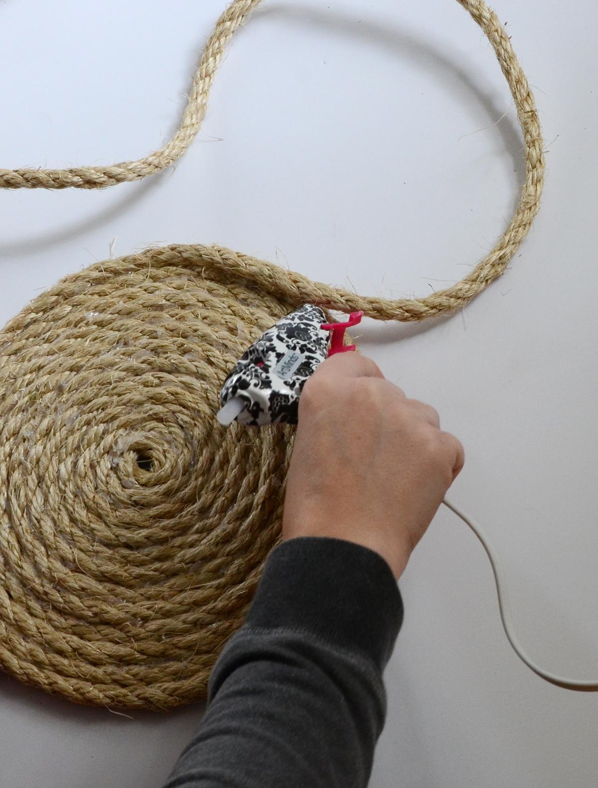 Rope Basket DIY 2