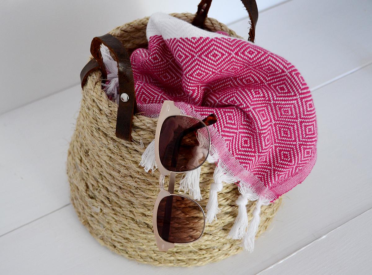 No-Sew Rope Basket