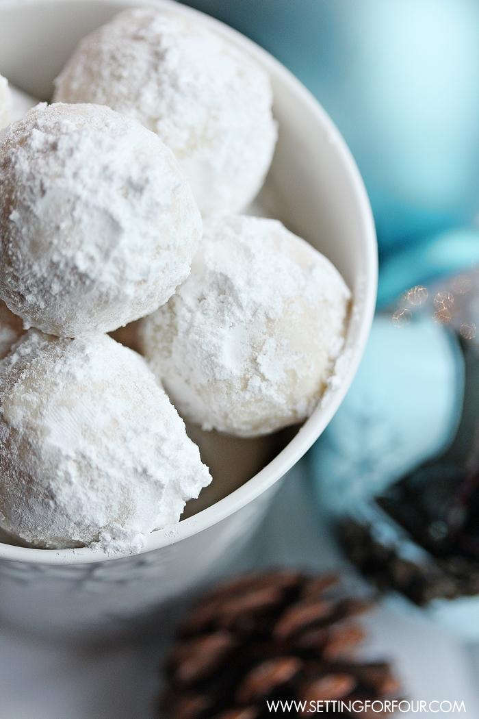 Snowball Cookies Favor