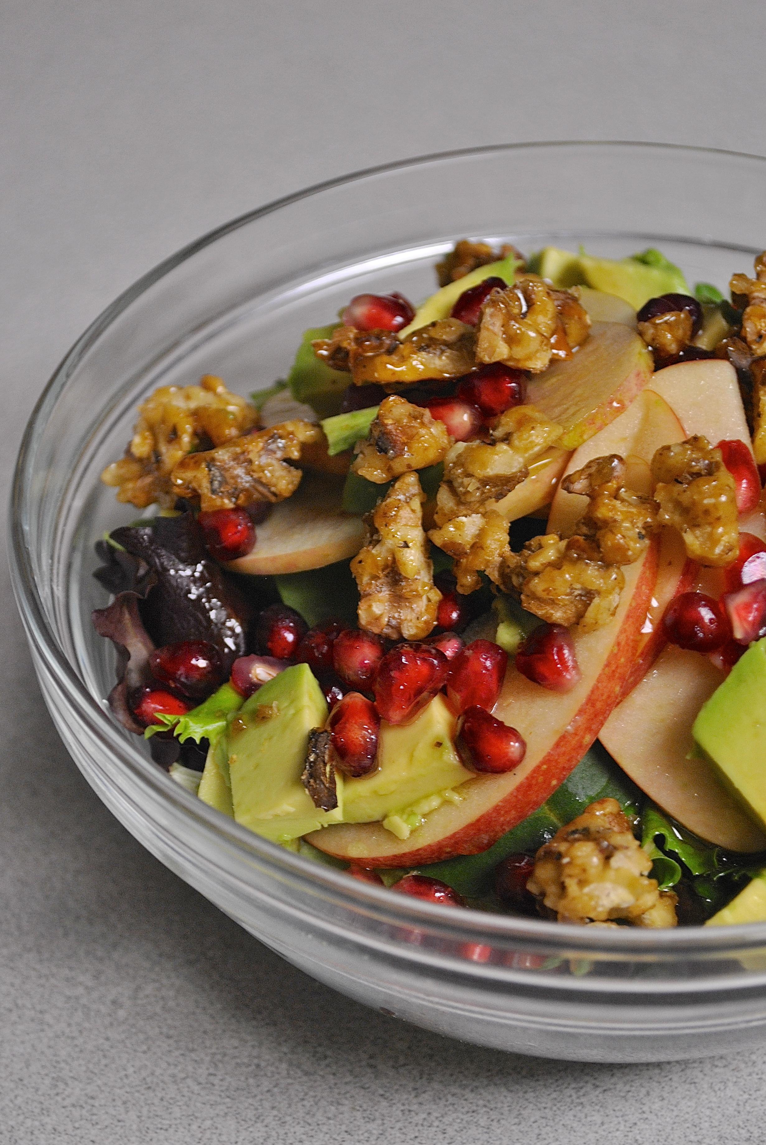 Sweet Walnut Winter Salad Recipe