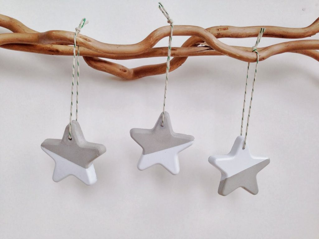 cement star decorations