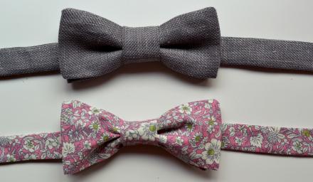 diy bow tie gift