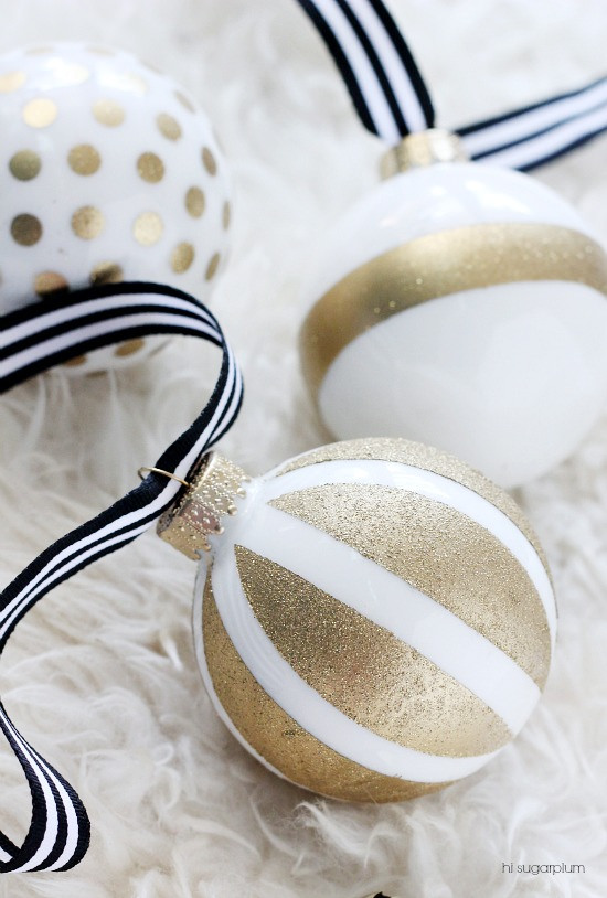 kate spade inspired ornaments