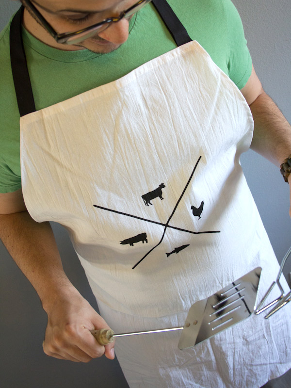 manly grilling apron