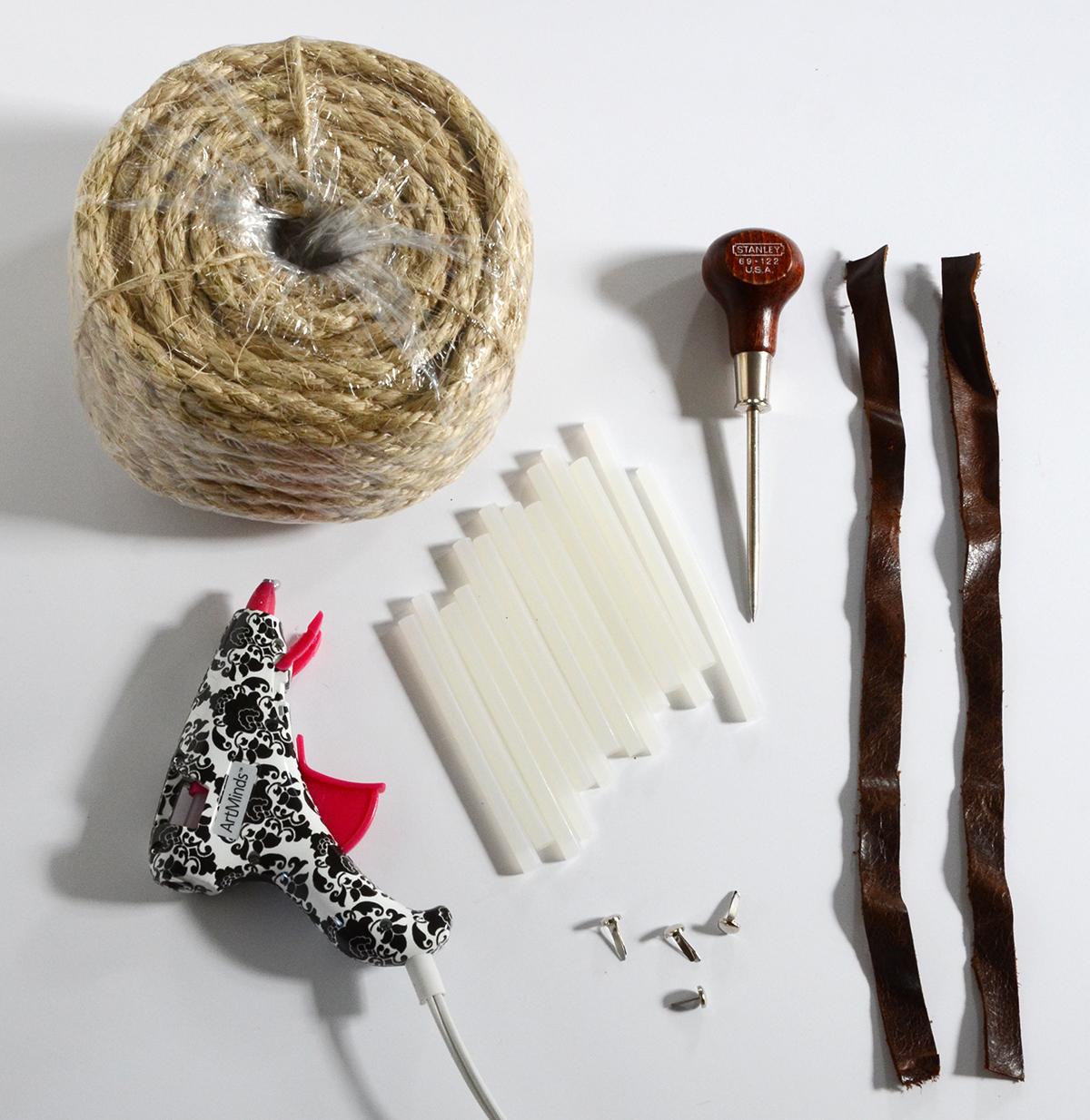 rope basket materials
