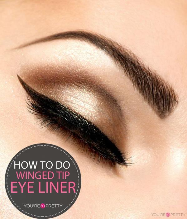 Cat Eye Winged Liner Tutorial