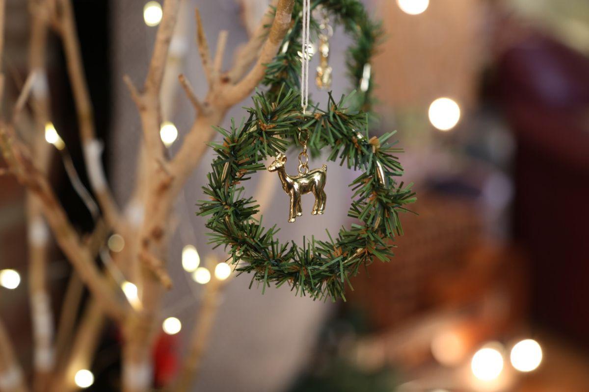 Charm Wreath Ornament