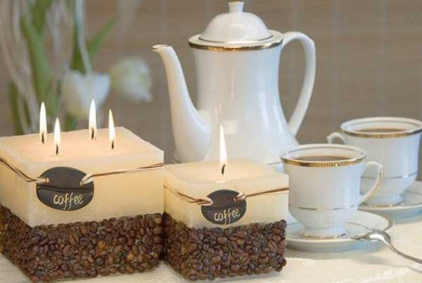 Coffee Candle DIY
