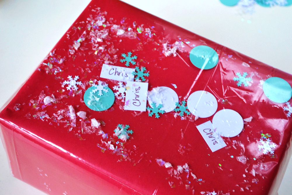 Confetti Gift Wrap for kids