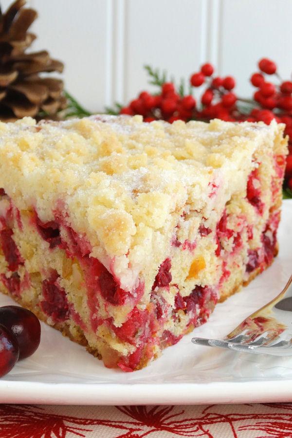 Cranberry Gluten Free Cake Recipe