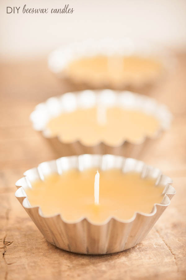 DIY Beeswax Candle