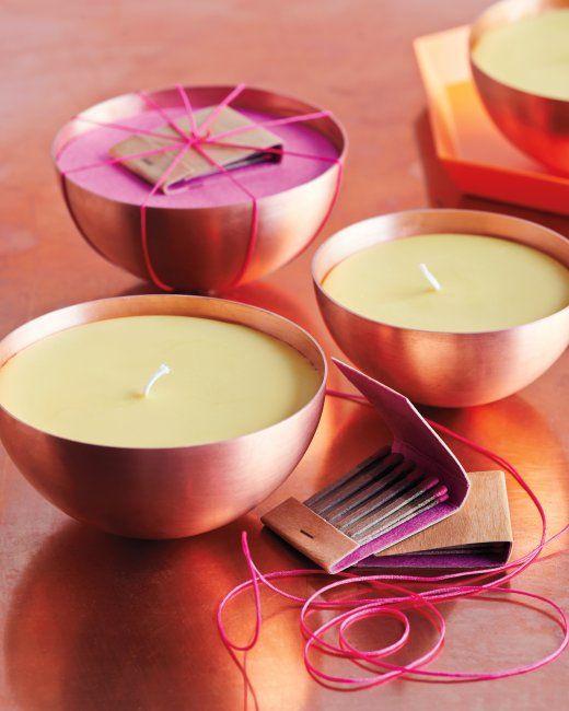 DIY Citrus Spice Candle