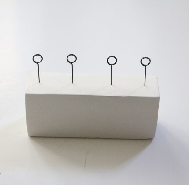DIY Clay Desk Organizer - all pins