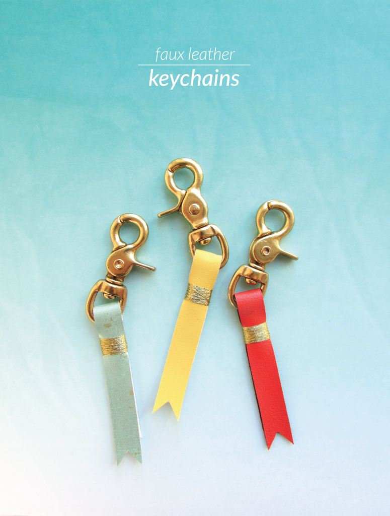 DIY Faux Leather Banner