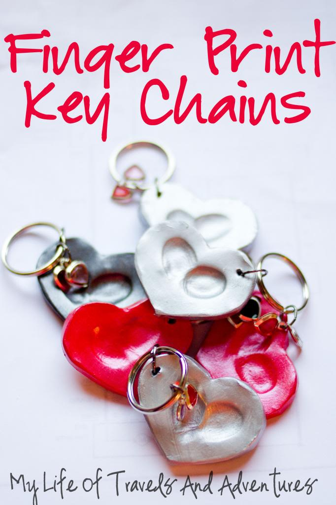 DIY Fingerprint Keychains