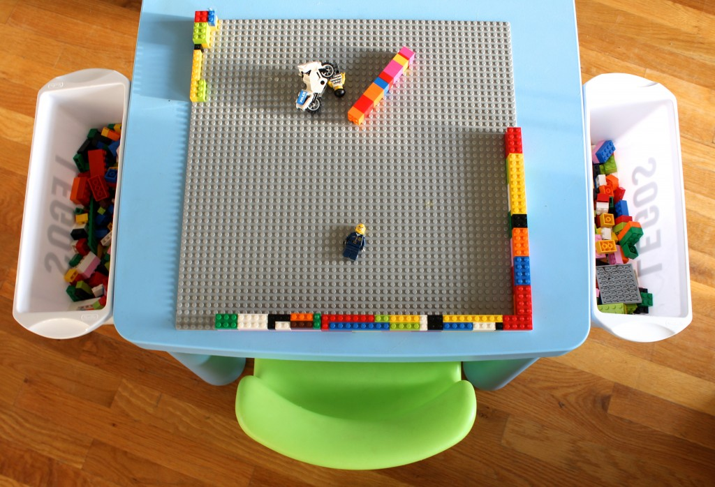 DIY Ikea Lego Table