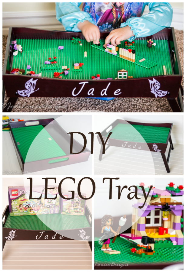 DIY Lego Serving Tray