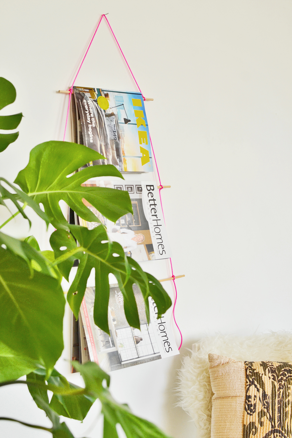 DIY Magazine Holder 7