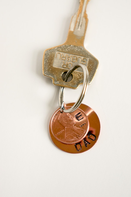 DIY Penny Keychain