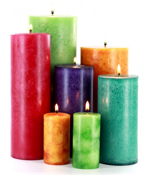 DIY Pillar Candle