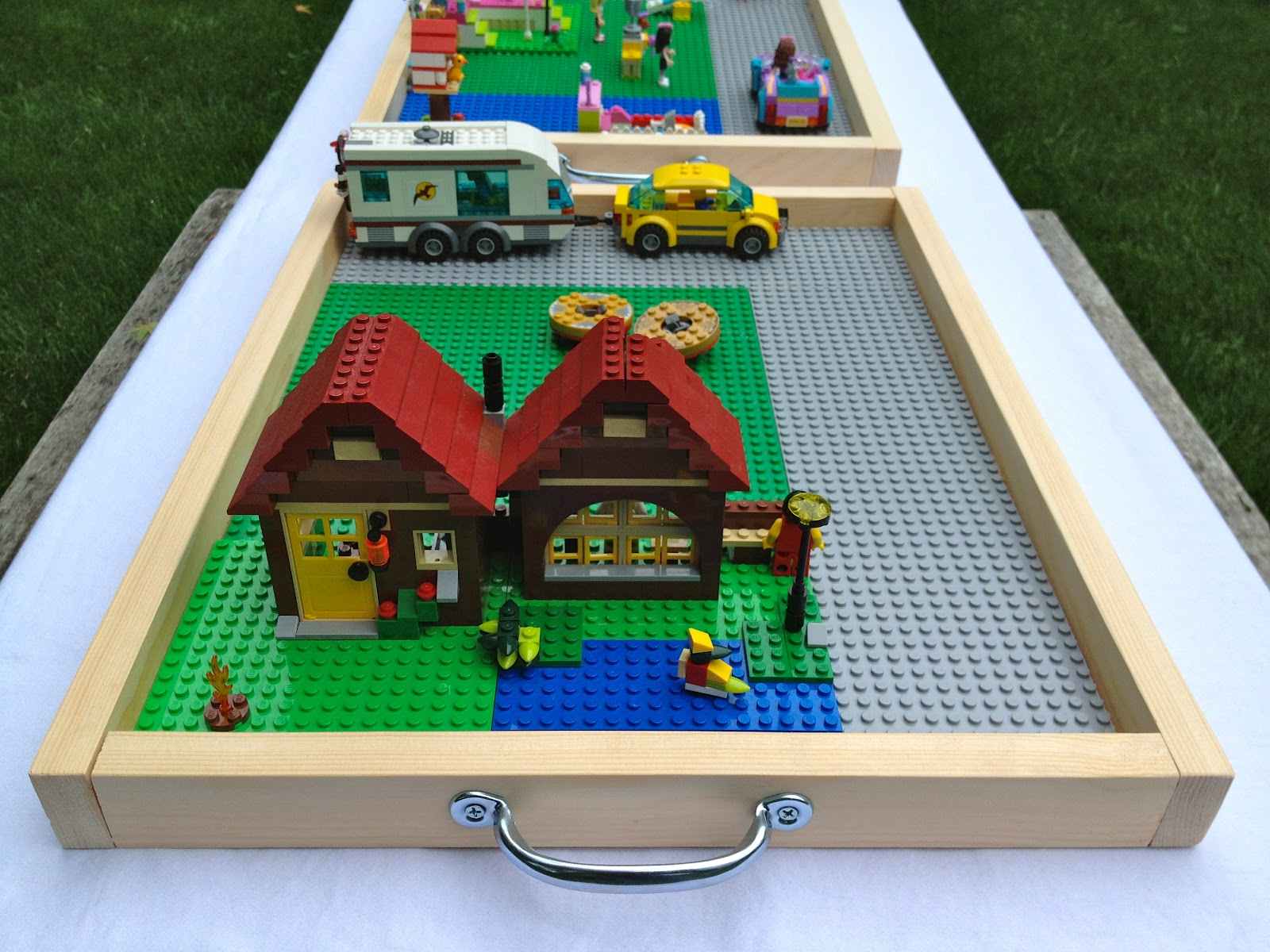 DIY Portable Lego Tray