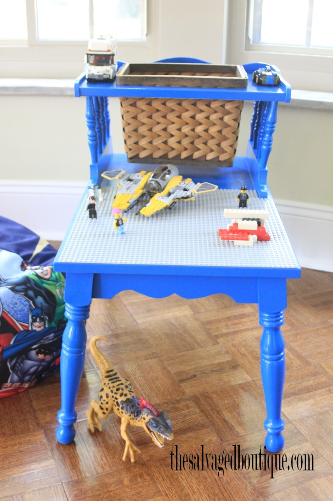 DIY Vintage Lego Table Redo