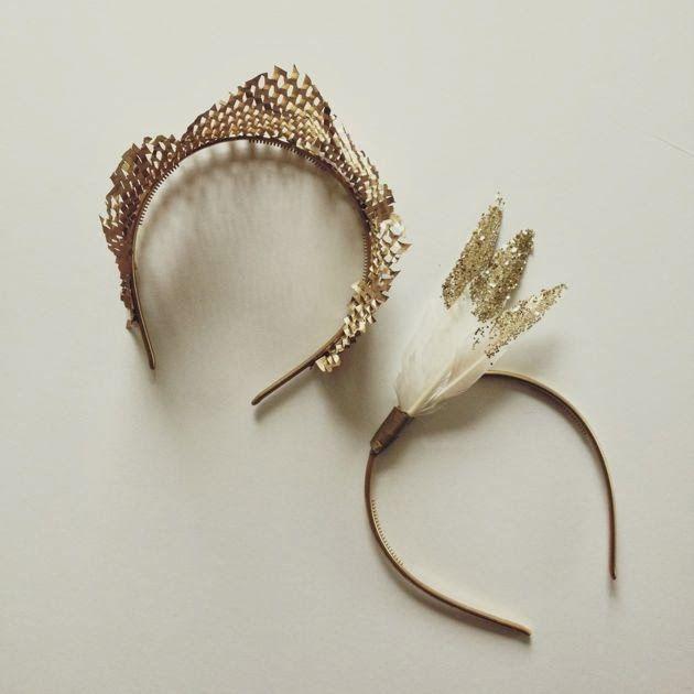 DIY-gold-headband