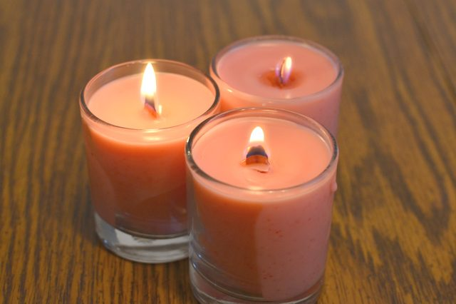 DIY soy wood wick candles
