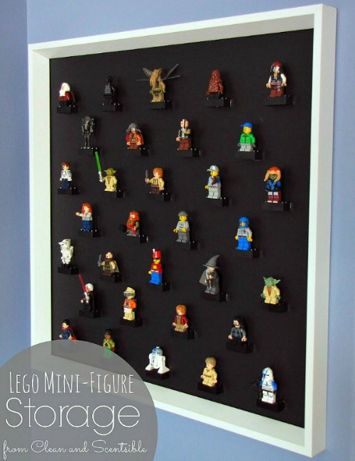 DIy Lego People Storage