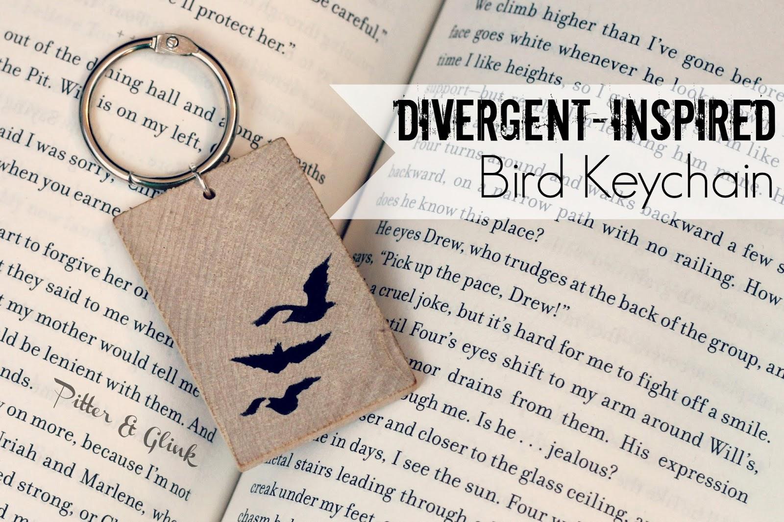 Divergent Inspired Keychain DIY