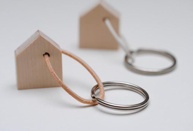 Diy House Keychain