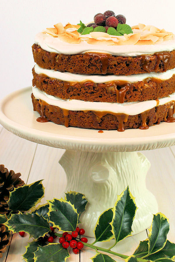 Gingerbread Layer Cake Recipe