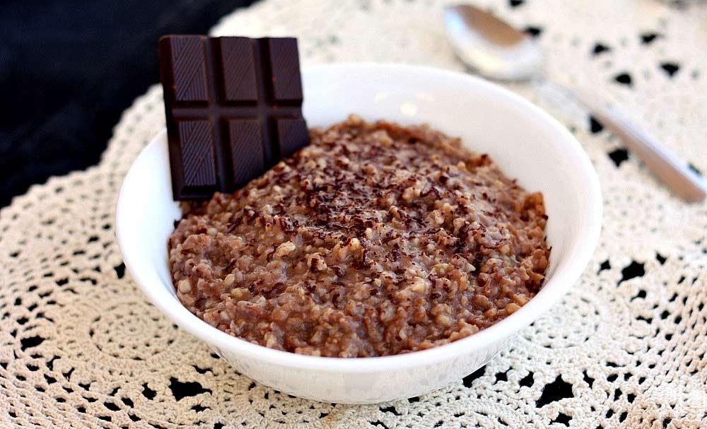 Hot Chocolate Oatmeal Crockpot Recipe