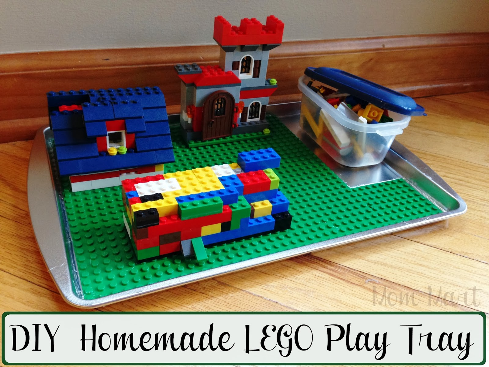 LEGO Play Tray DIY Homemade