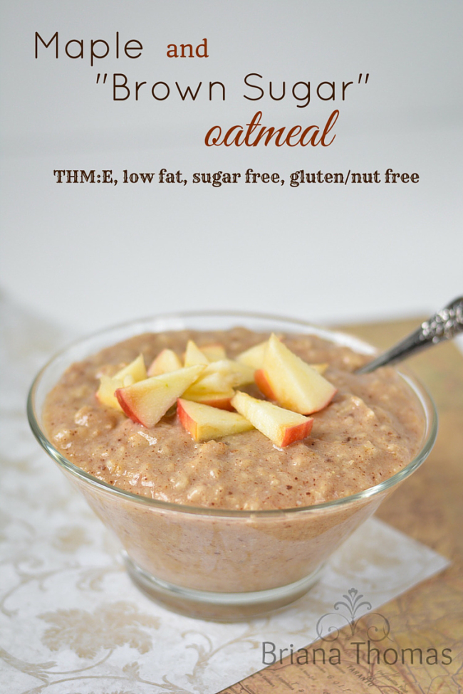 Maple-and-Brown-Sugar-Oatmeal