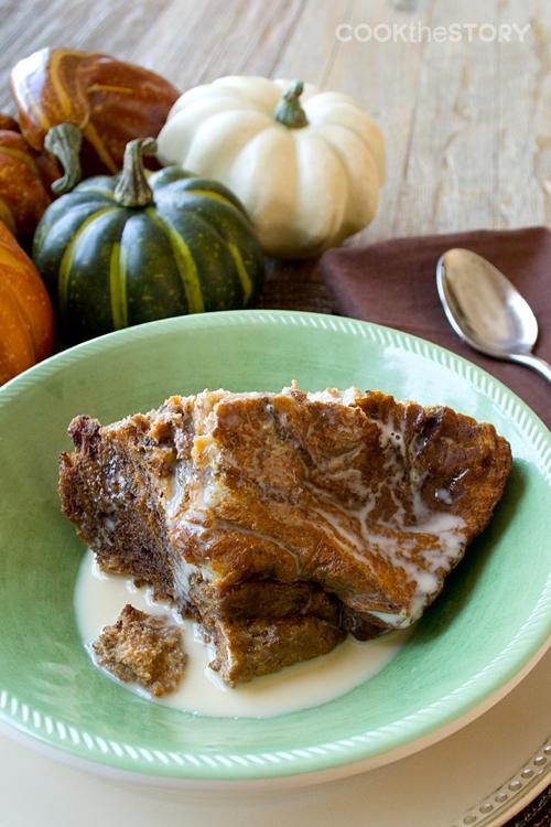 Pumpkin Bread Pudding BReakfast