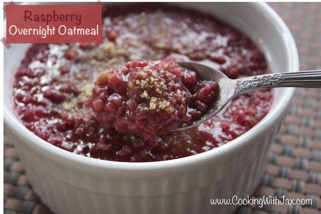 Raspberry Oatmeal Crockpot