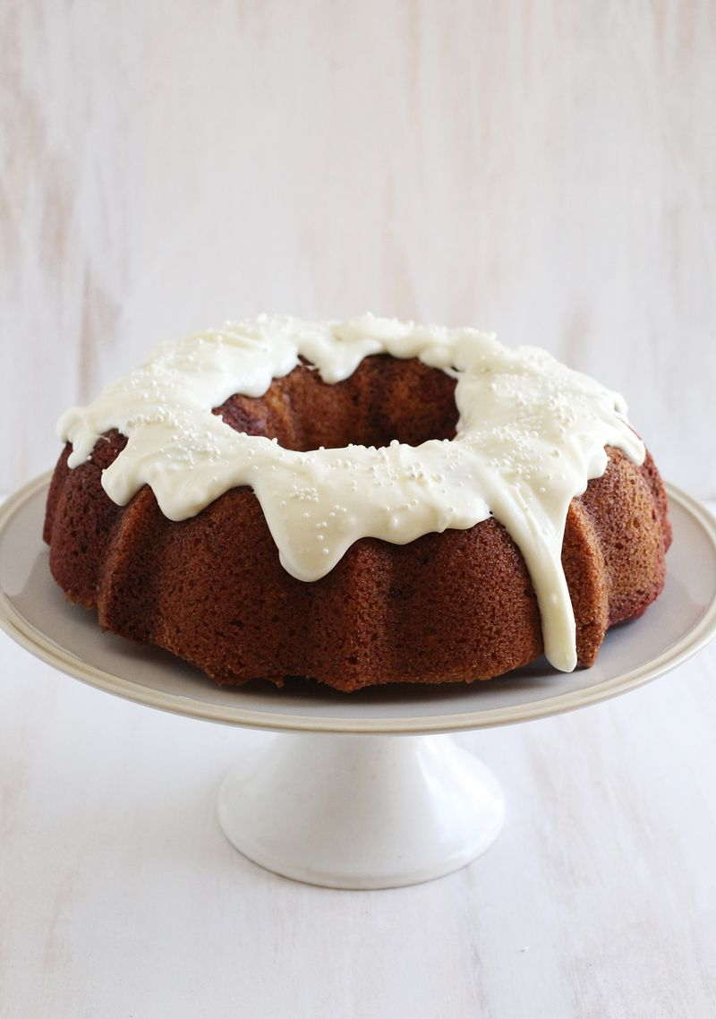 Red Velvet Swirl Bundt Cake Recipe
