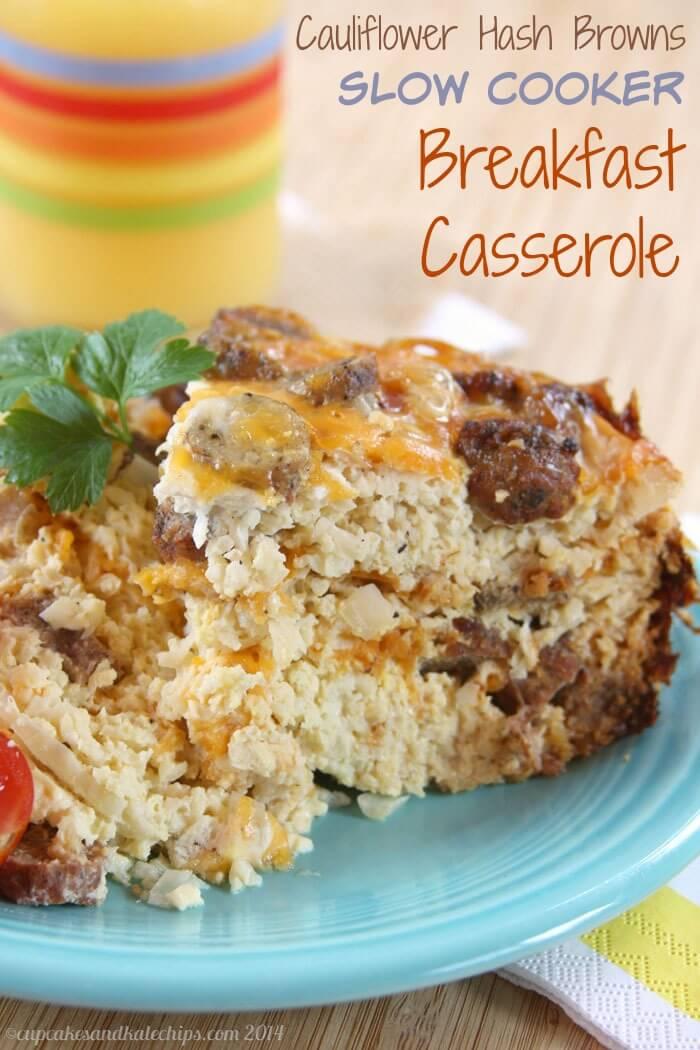 Slow-Cooker-Breakfast-Casserole-Cauliflower-